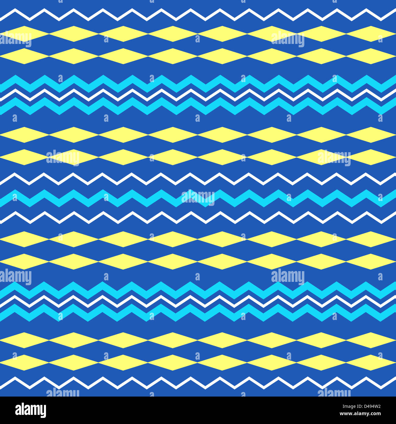 Colorful artistic stripes pattern Stock Photo