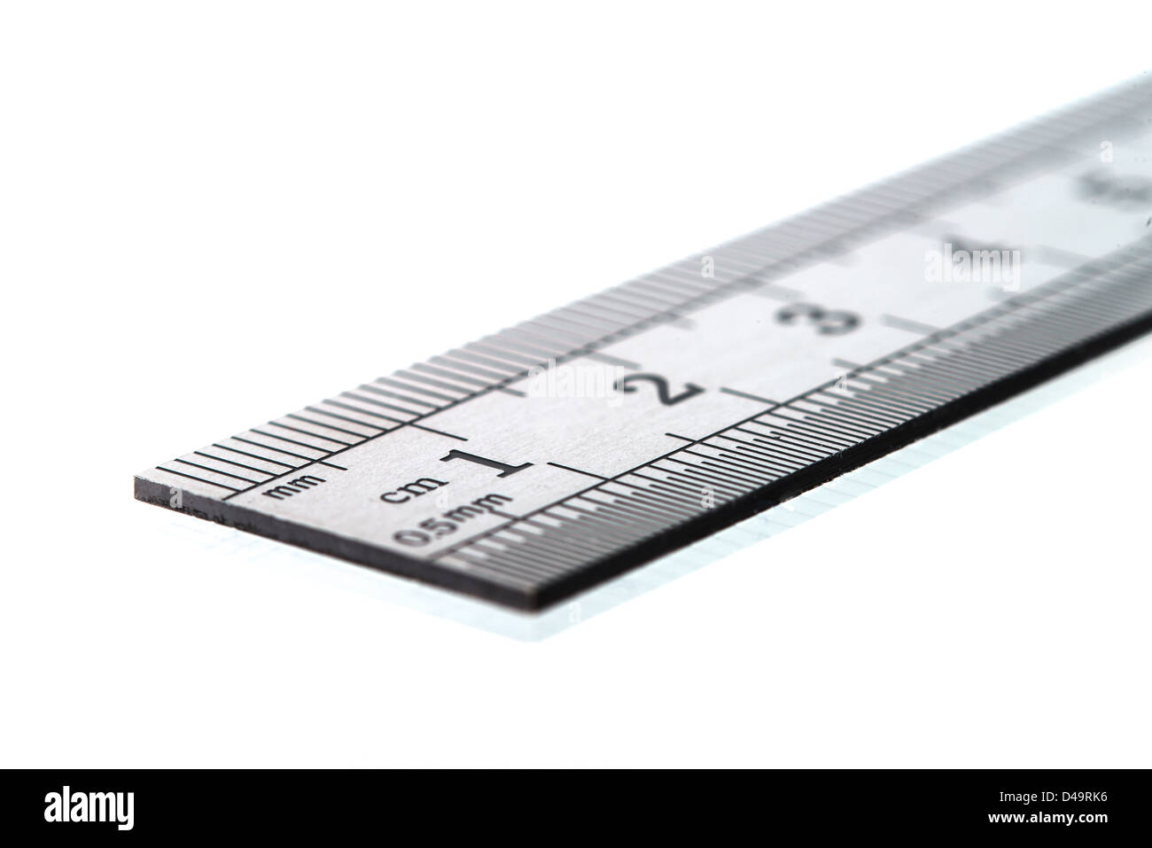 This is an image of a ruler. - Stock Image