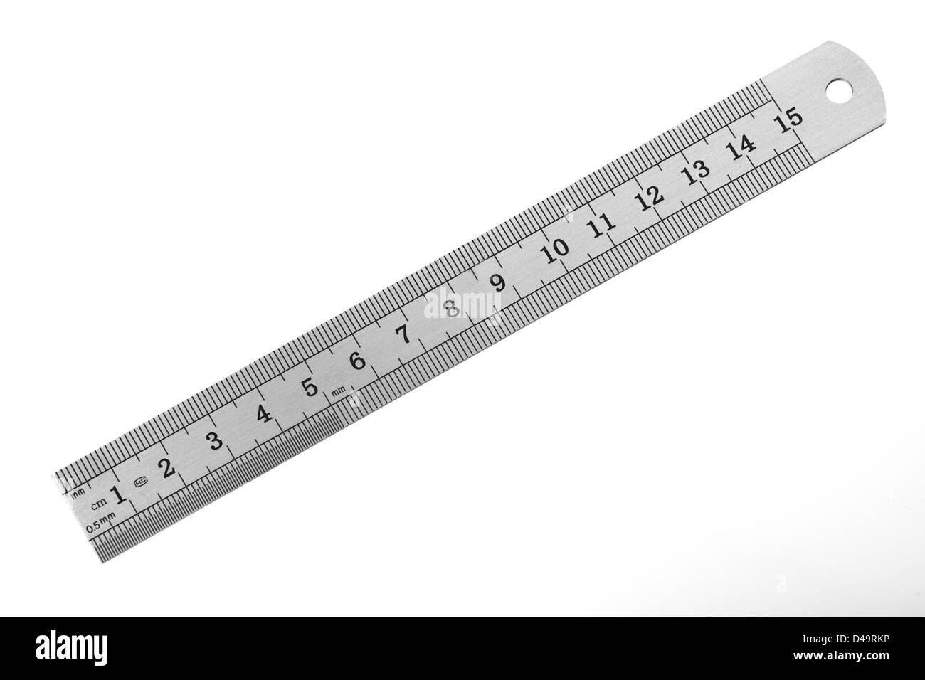 This is an image of a ruler, cut out over a white background ...