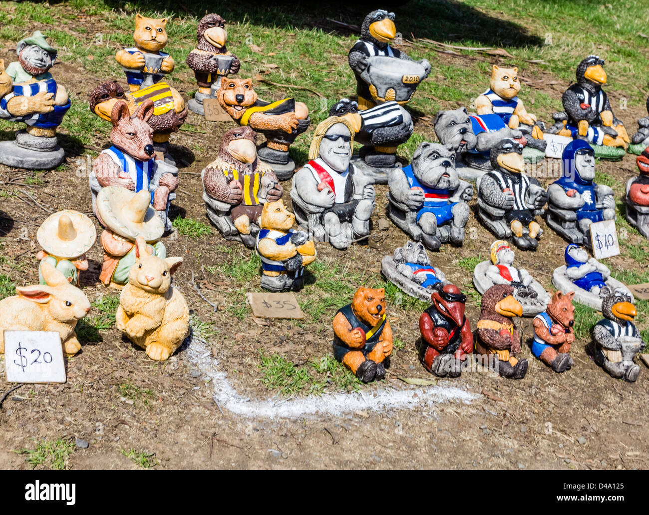 Garden Gnomes On Sale: Garden Gnomes And Concrete Figurines On Sale At The
