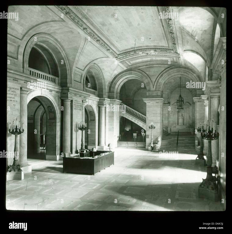 Main Lobby Inquiry Desk - Stock Image