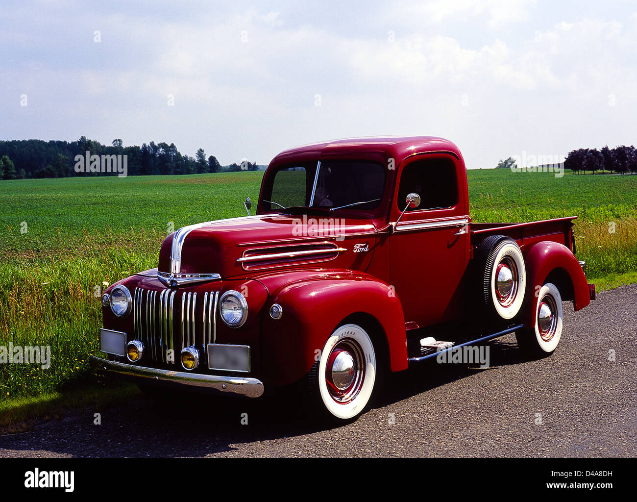 1946 Ford Pick Up Truck Stock Photo Alamy