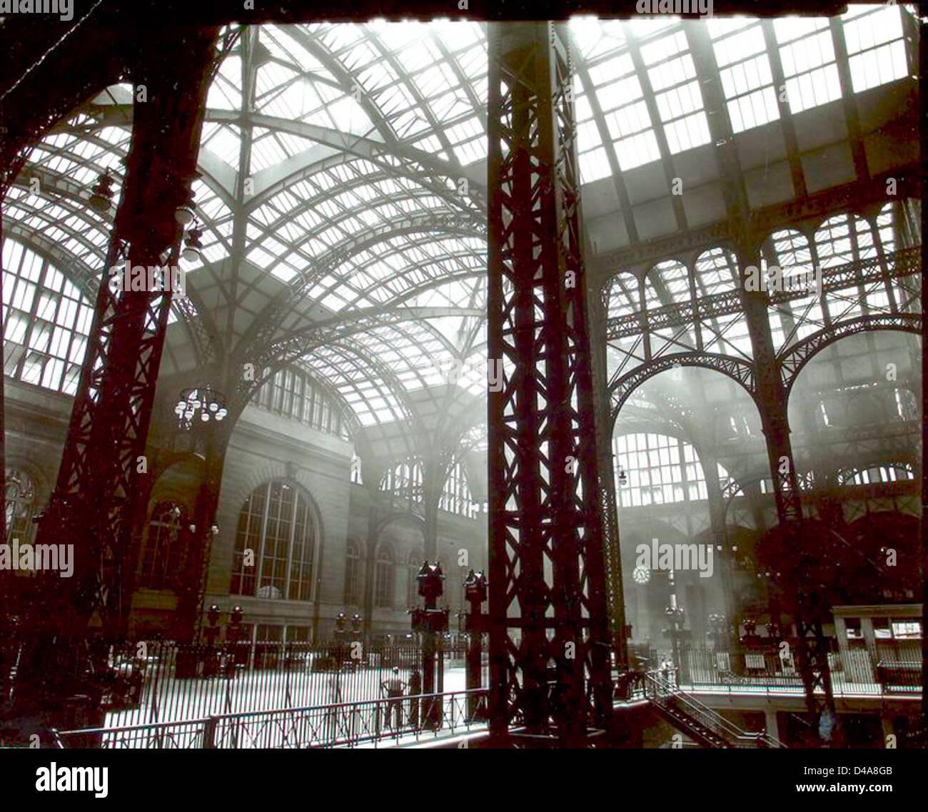 Penn Station, Interior, Manhattan. - Stock Image