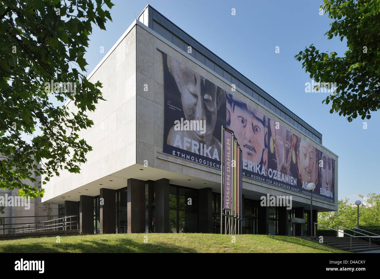 Berlin, Germany, Museum of Ethnology and the Museum of Asian Art - Stock Image