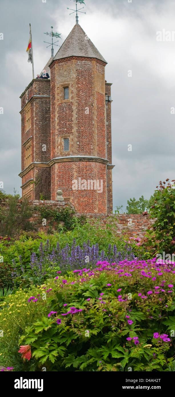 Sissinghurst Gardens, Cranbrook, Kent - Stock Image