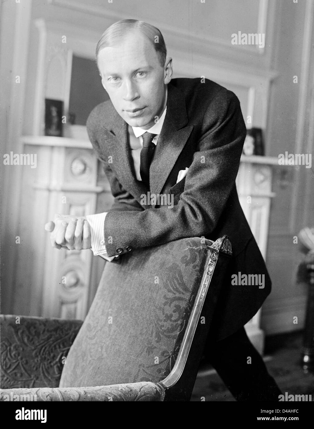Prokofiev, Sergei Sergeyevich Prokofiev, Russian composer - Stock Image