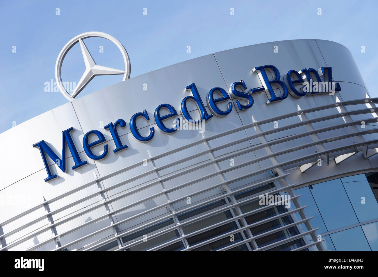 Mercedes-Benz - Stock Image