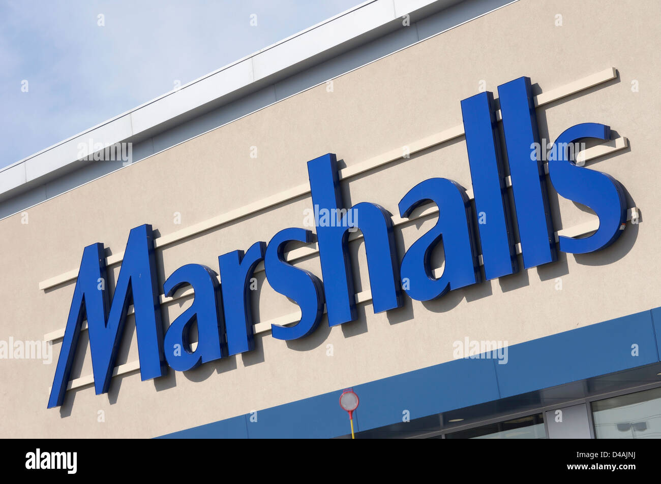 Marshalls - Stock Image