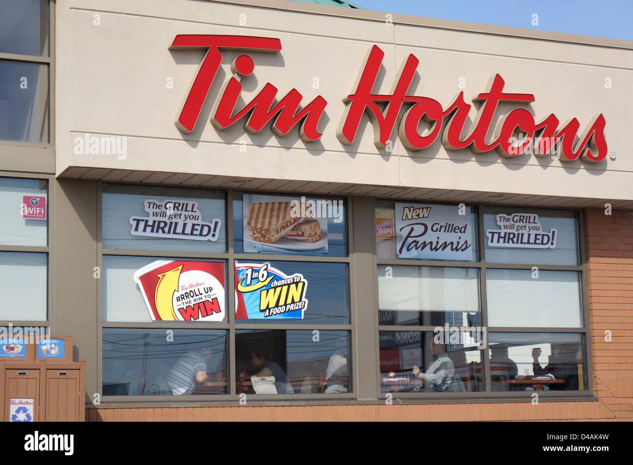 Tim Hortons - Stock Image
