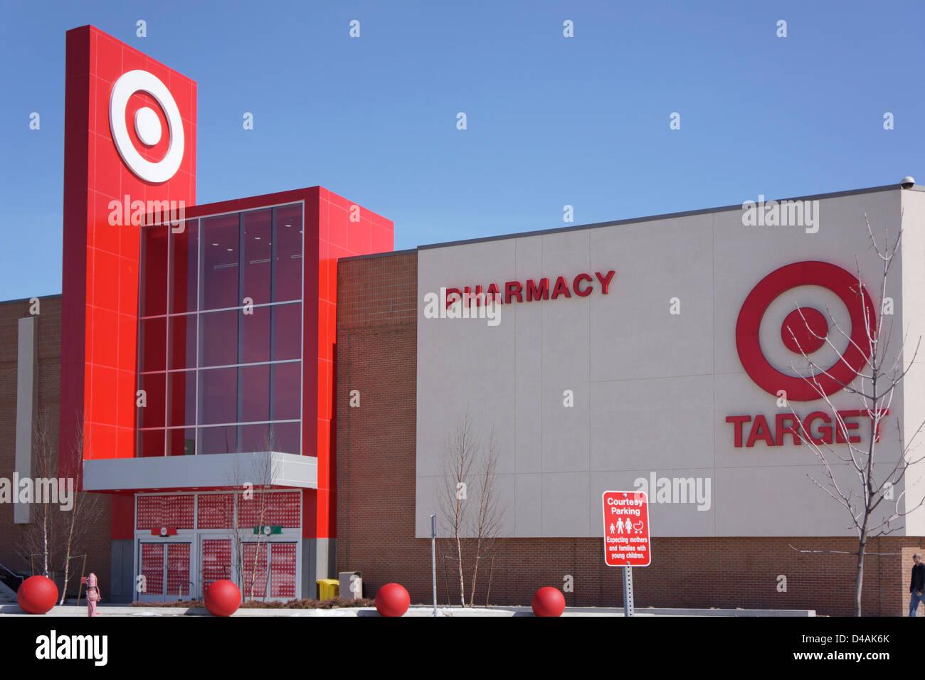 Target Store - Stock Image