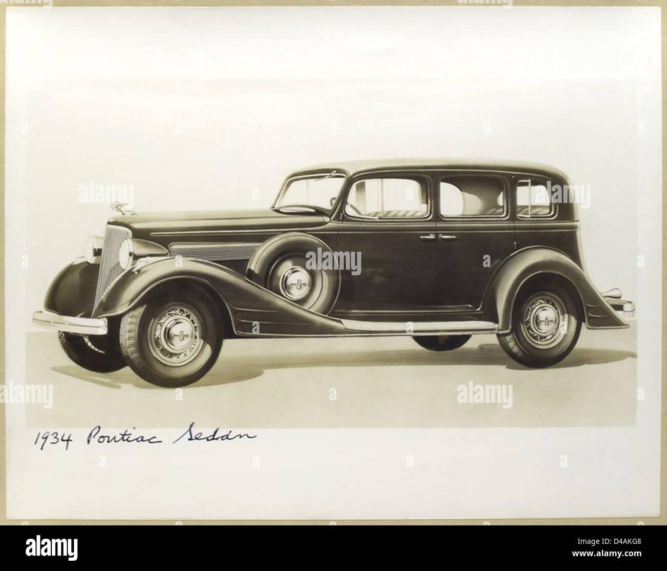 1934 Pontiac Sedan Stock Photo: 54324600 - Alamy