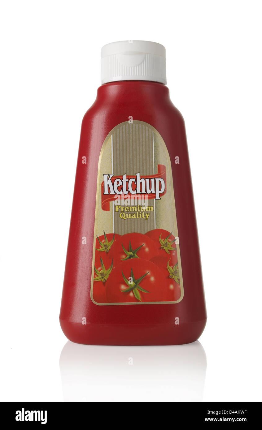 Ketchup Dispenser - Stock Image