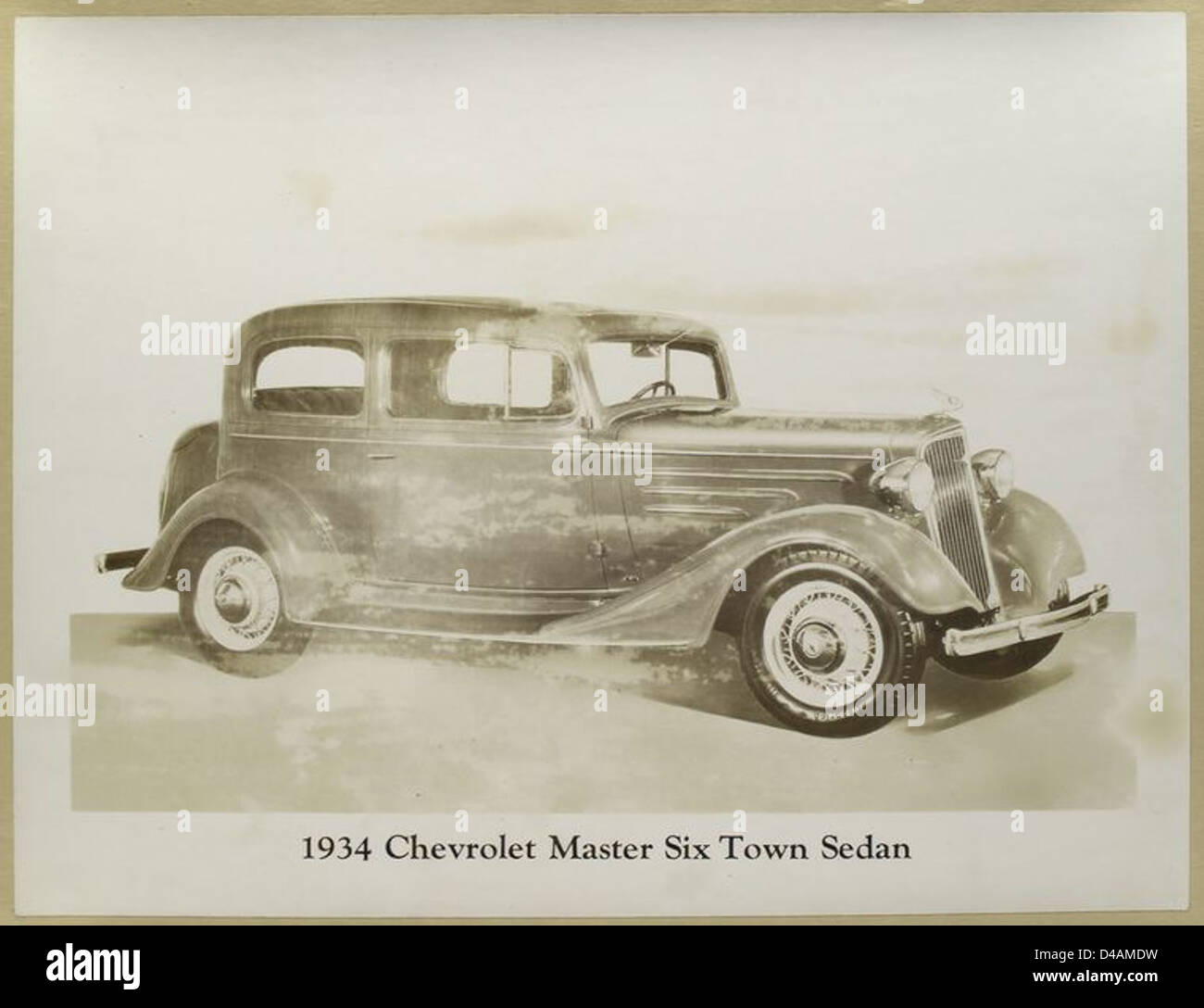 1934 Chevrolet Master Six Town Sedan Stock Photo: 54325317 - Alamy