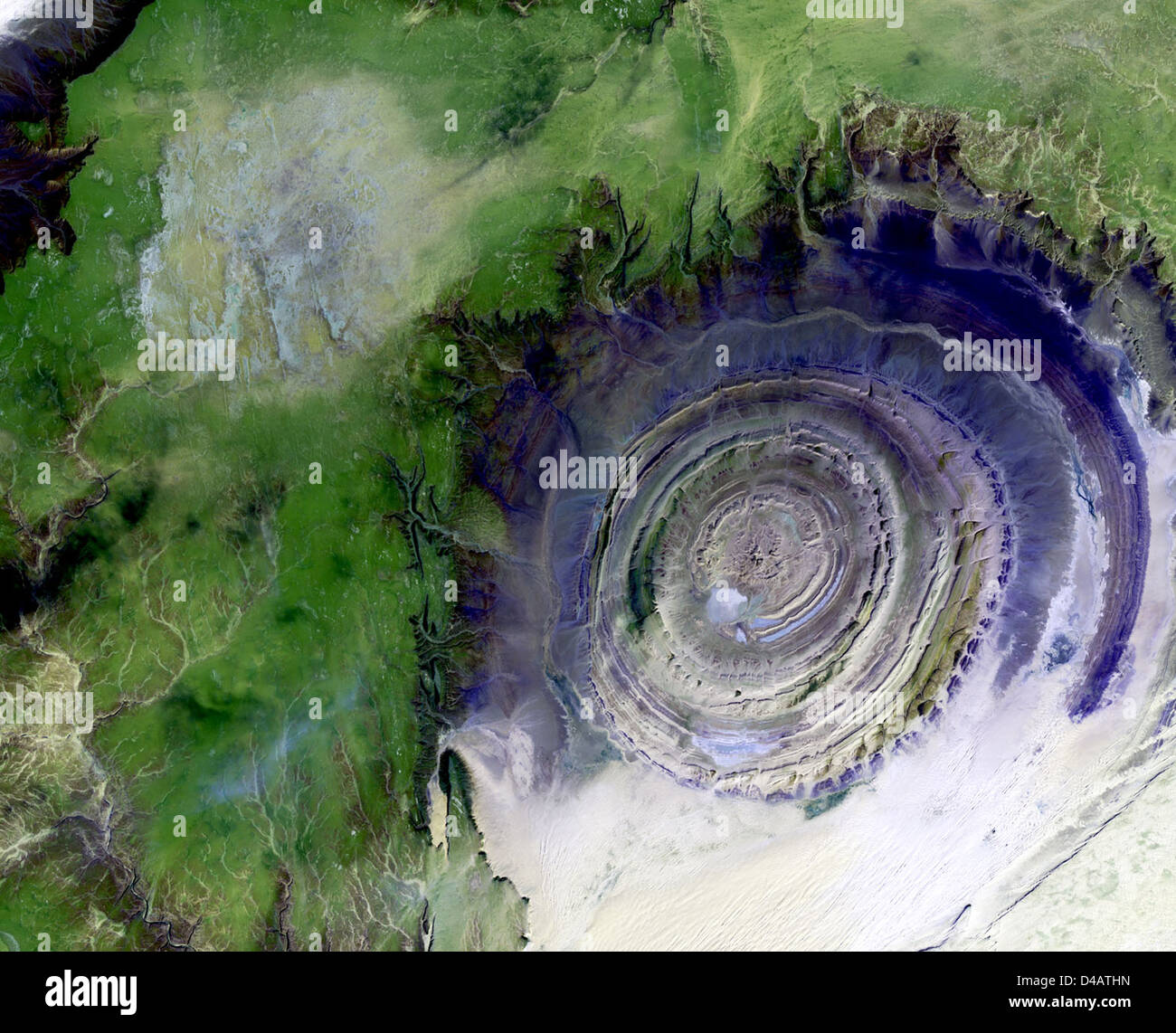 Richat Structure - Stock Image