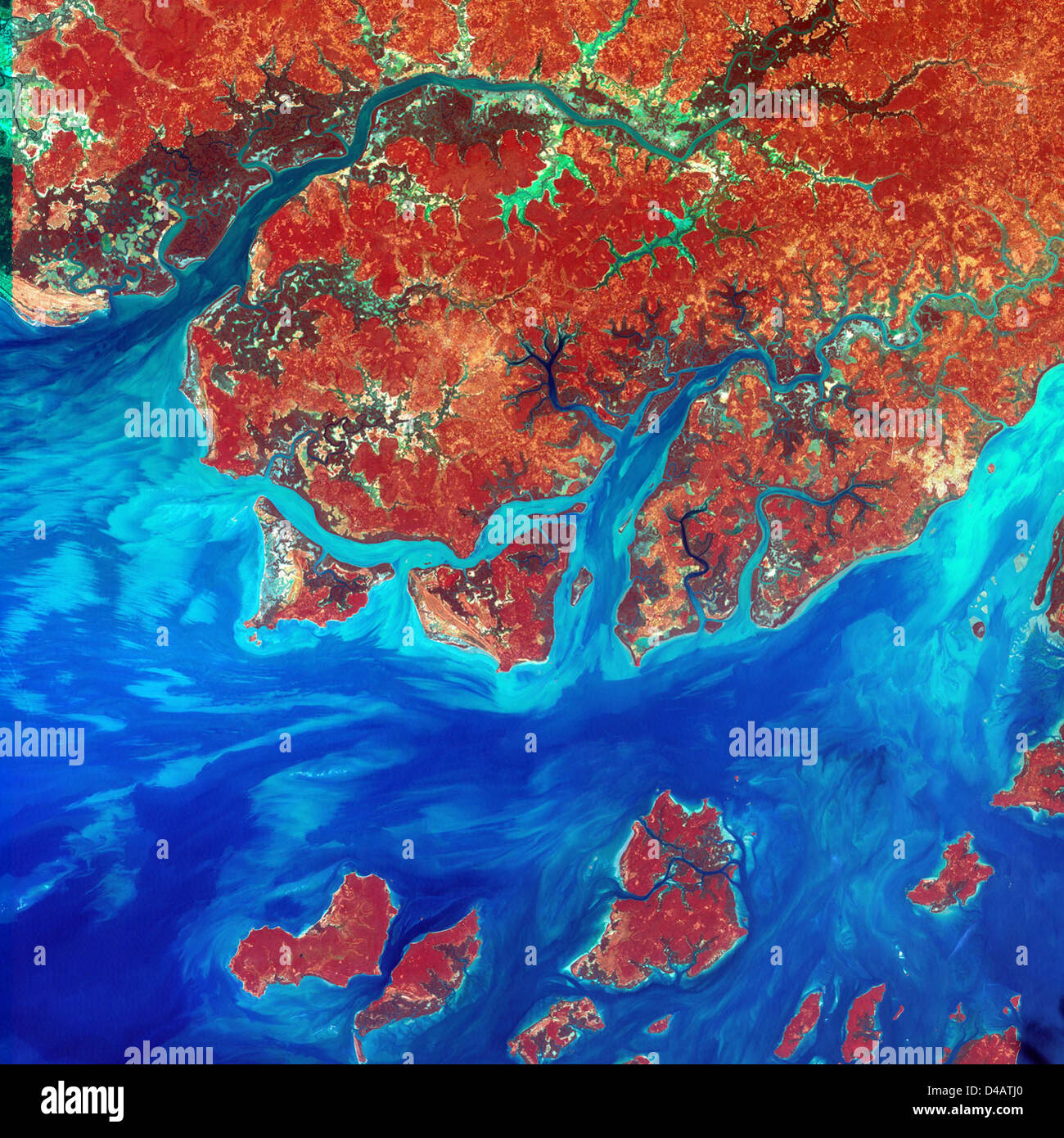 Guinea-Bissau - Stock Image