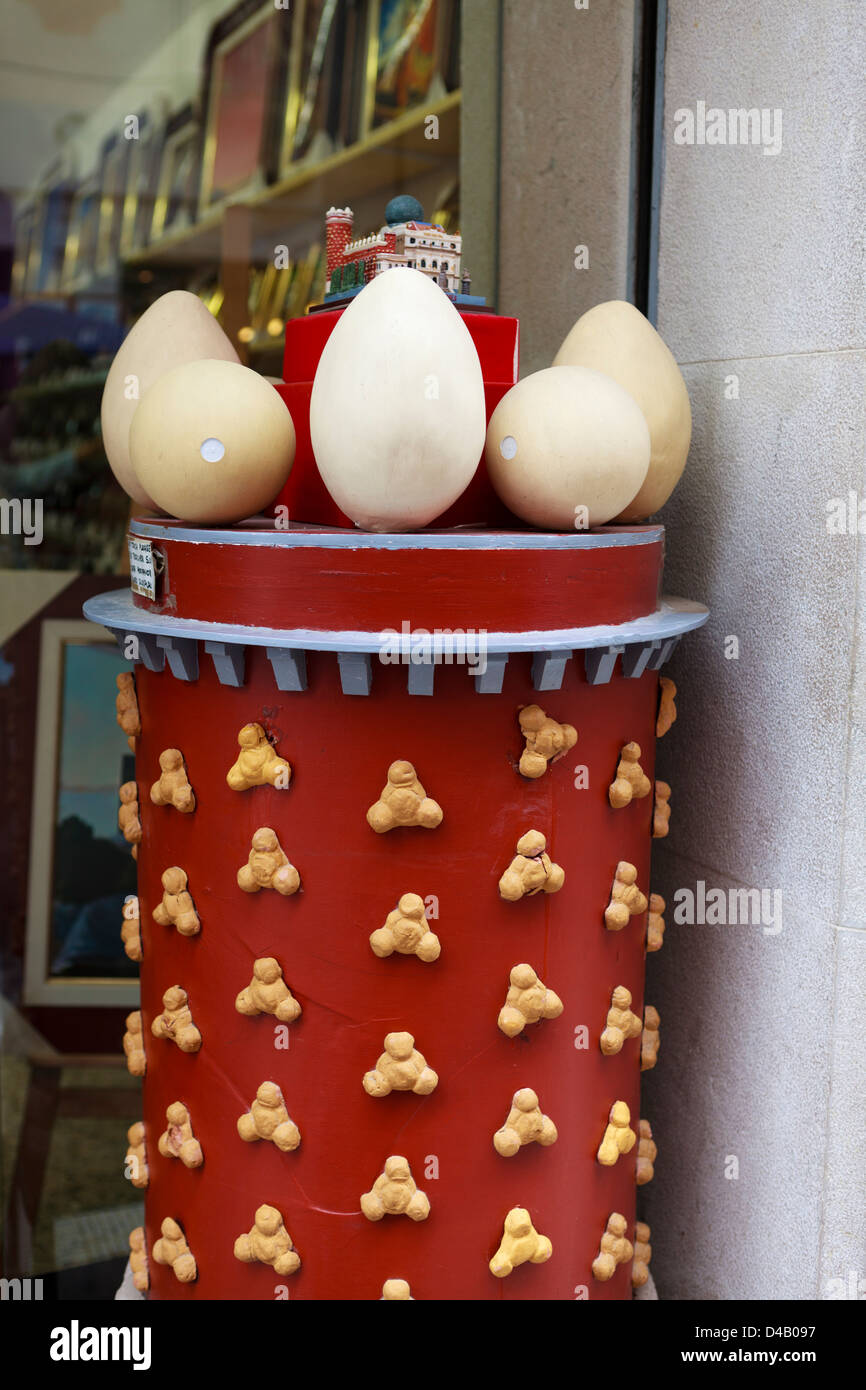 Costa Brava - Figueres Spain - Stock Image