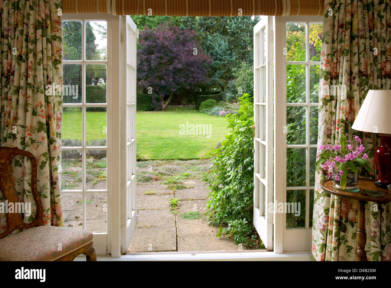 French Doors Interior Stock Photos Amp French Doors Interior