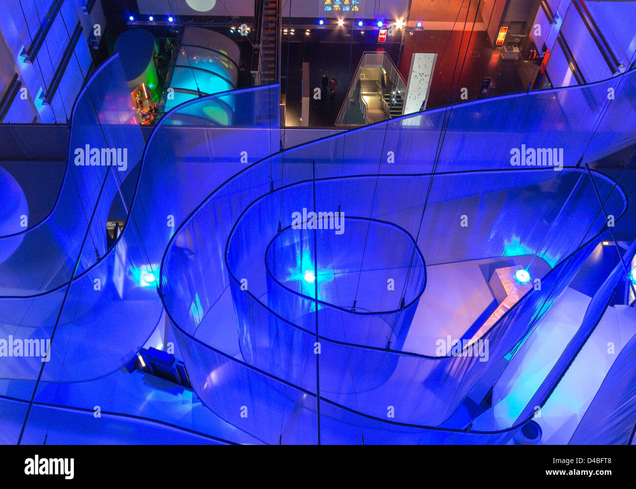 Science Museum in South Kensington, London, England - Stock Image