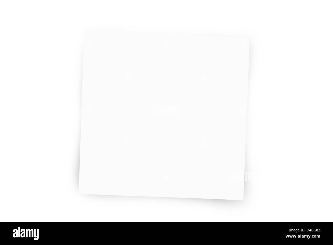 Adhesive Note - Stock Image
