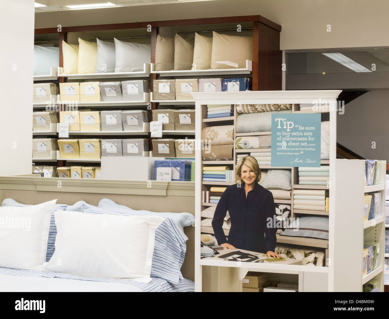 Macy S Department Store Bedding Department Herald Square