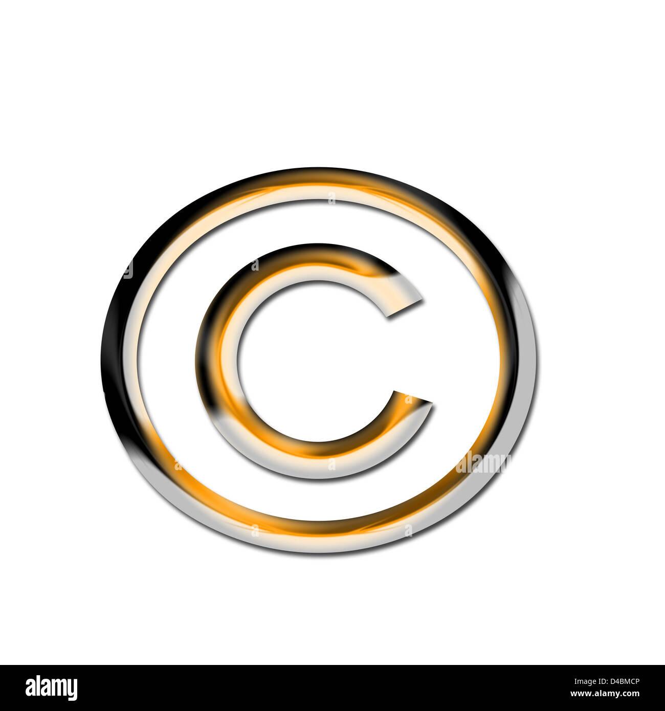 Symbol Copyright Symbol Used In Stock Photos Symbol Copyright