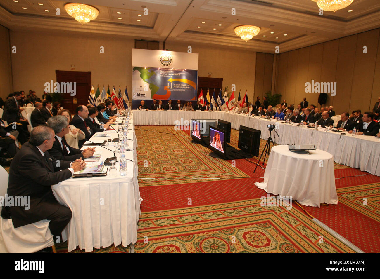 Second Pathways to Prosperity Ministerial Meeting - Stock Image