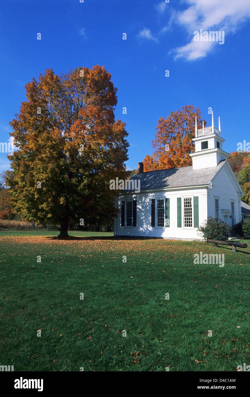 Elk280-1514v Vermont, Arlington, church - Stock Image