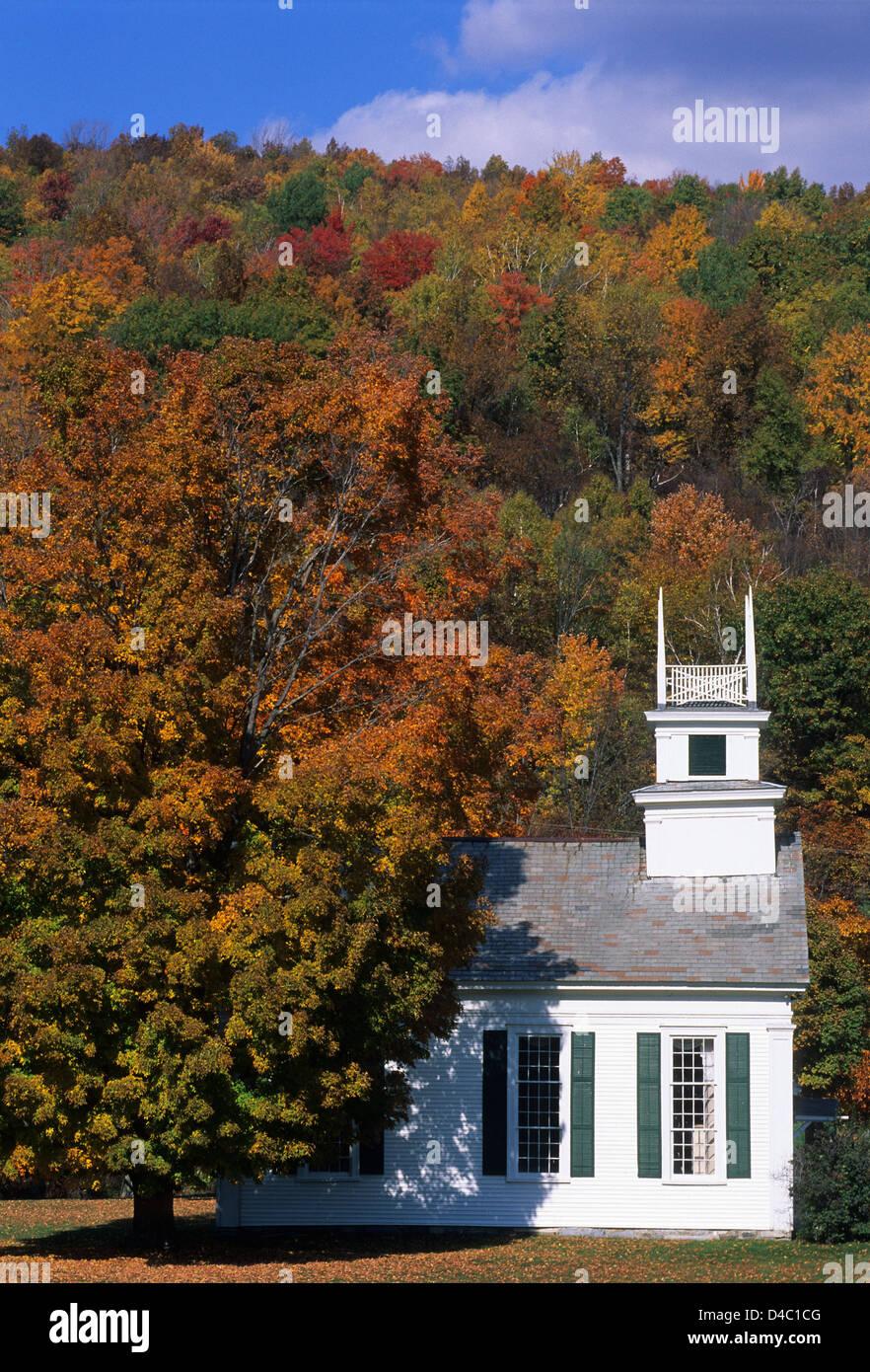 Elk280-1517v Vermont, Arlington, church - Stock Image