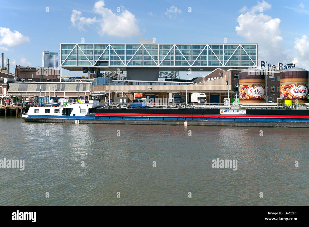 Rotterdam, Netherlands, headquarters of Unilever Netherlands' Stock Photo
