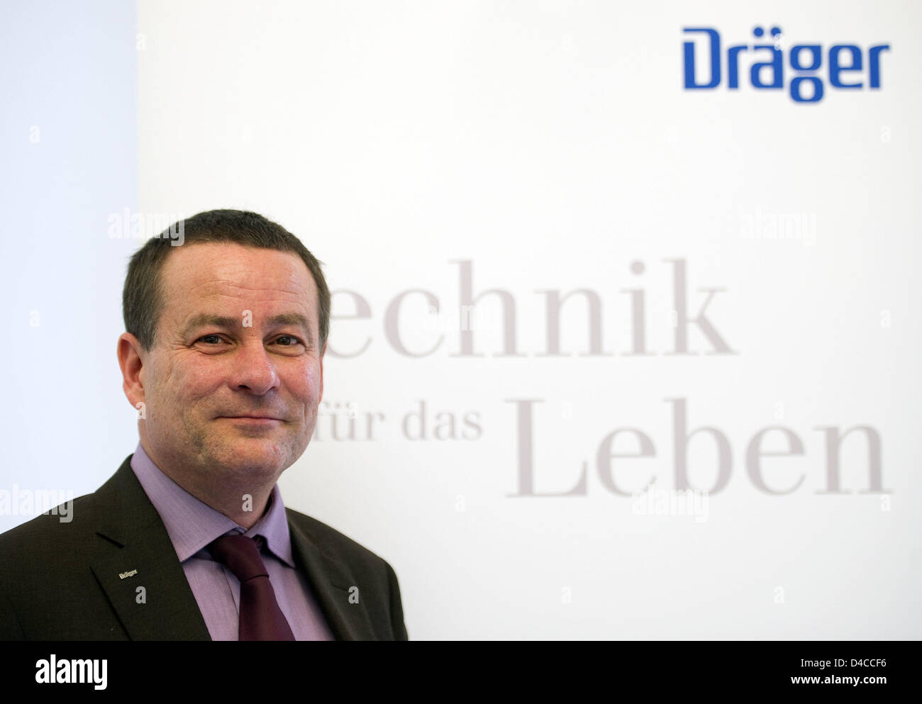 Stefan Draeger, CEO and chairman of the executive board of