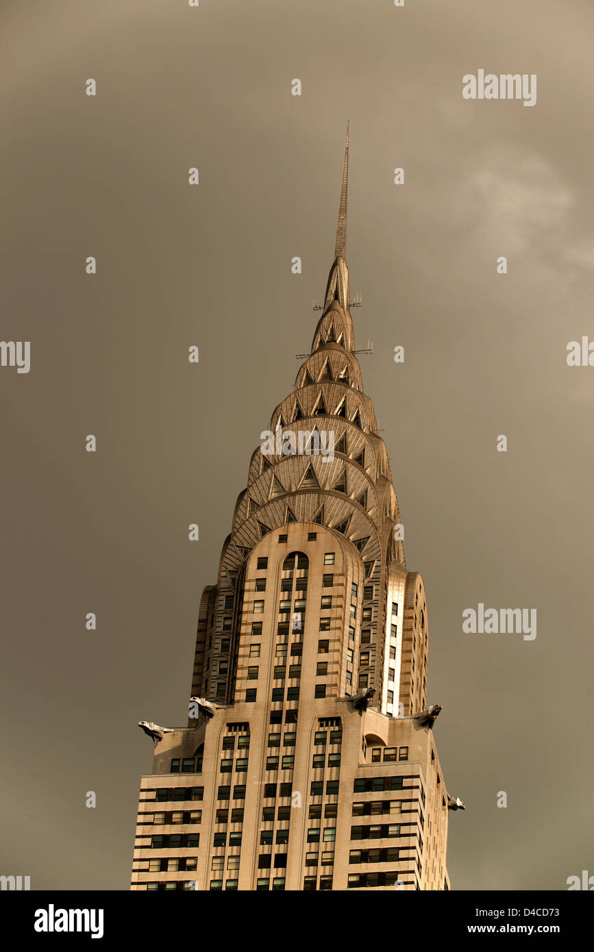 Chrysler Building. - Stock Image