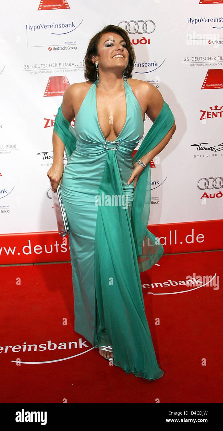 german actress christine neubauer arrives