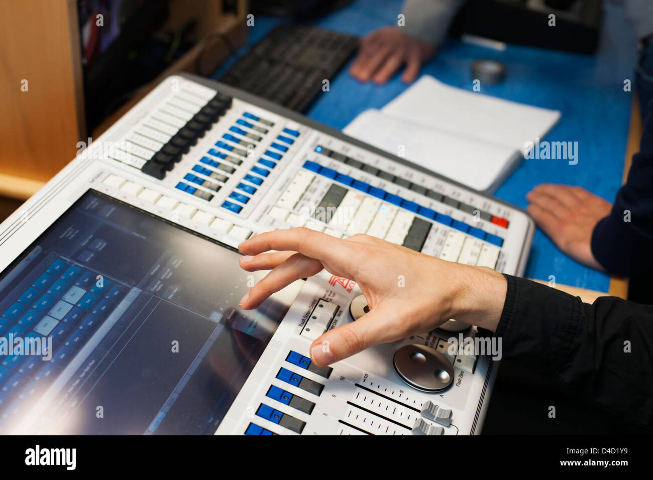 TV control panel. - Stock Image