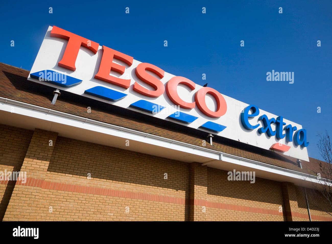 Tescos Shopping Stock Photos Tescos Shopping Stock Images