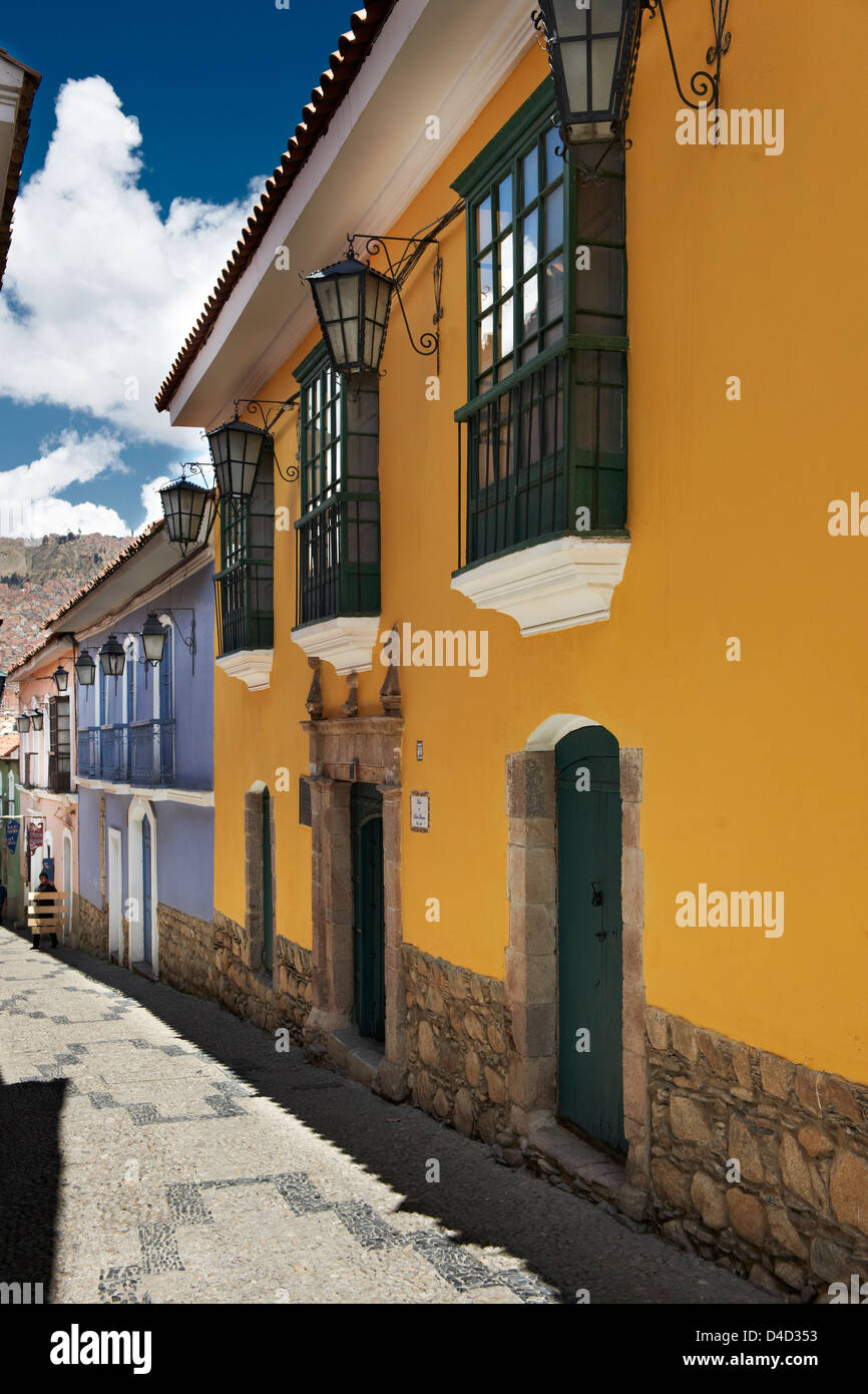 Calle Jaen, Bolivia, South America, America - Stock Image