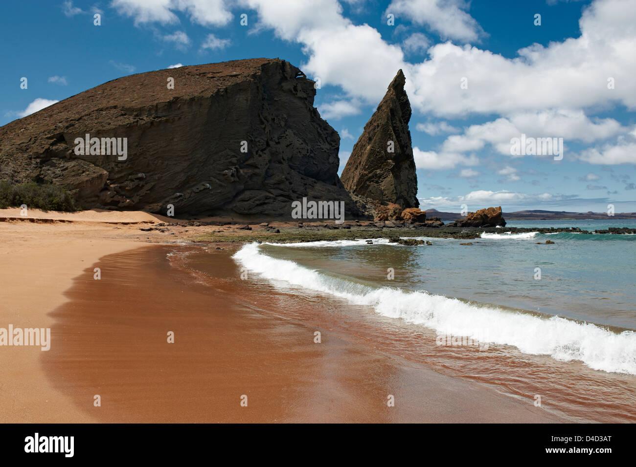 Bartolome Island, Galapagos Islands, Ecuador, South America, America - Stock Image