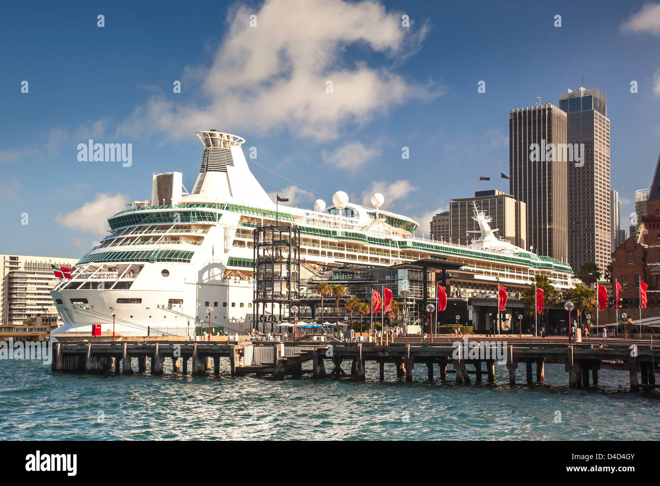 Sydney overseas passenger terminal - Stock Image