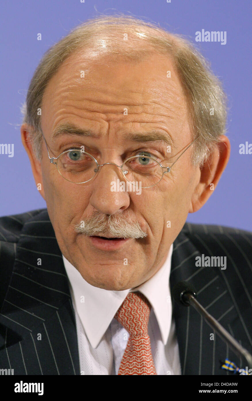 Cees Maas, vice president of the global association of financial institutions IFF (Institute of International Finance) Stock Photo