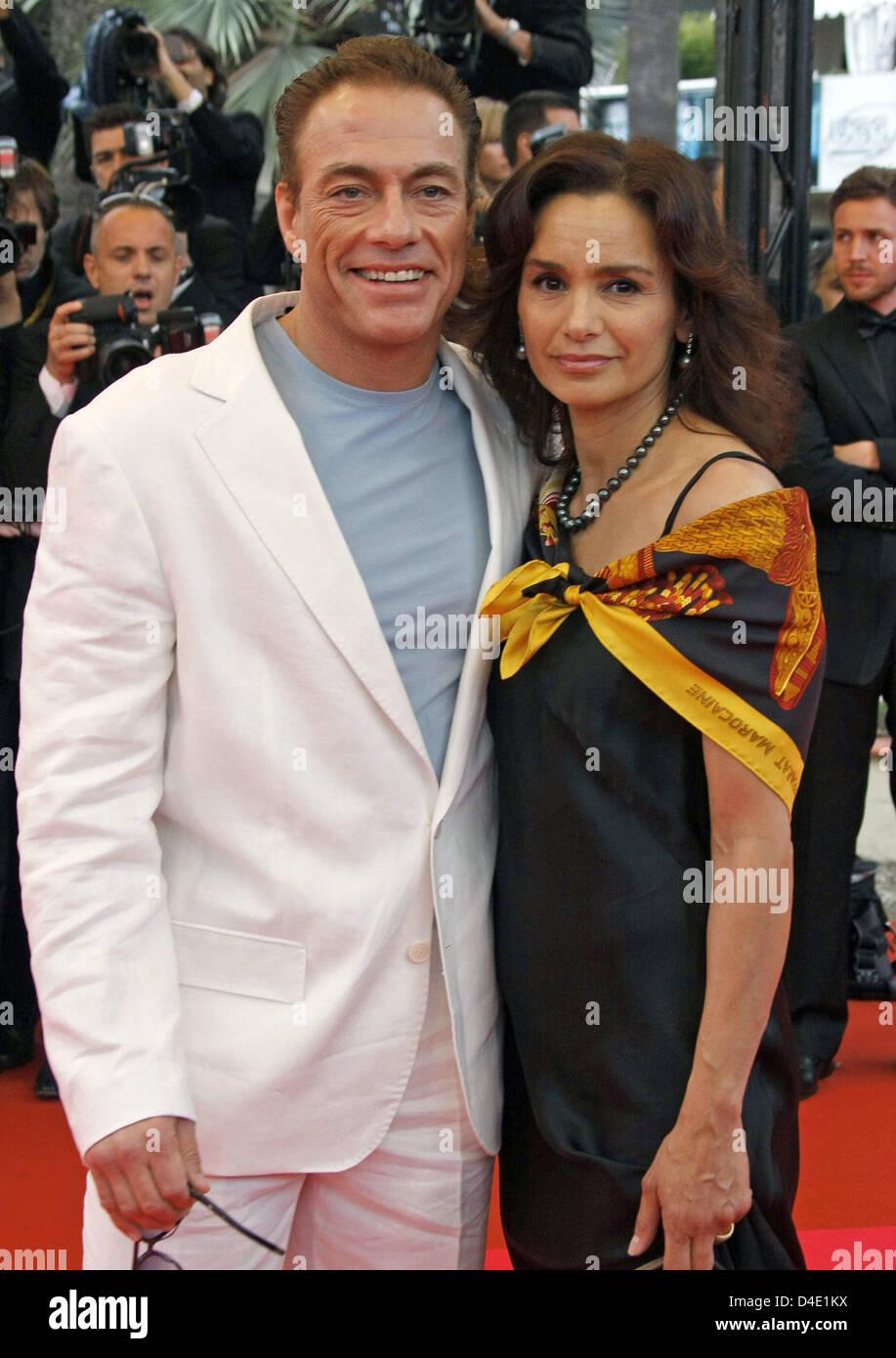Jean Claude Van Damme Cannes Festival Stock s & Jean