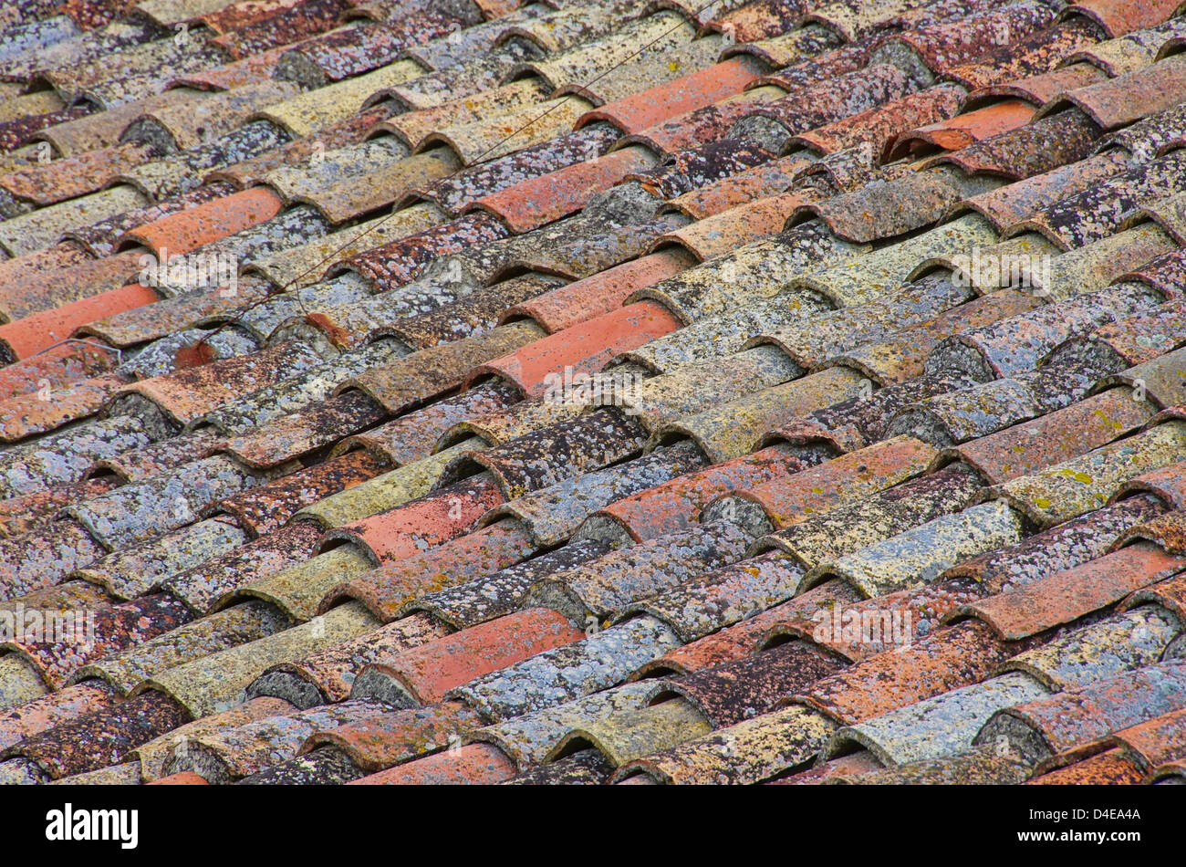 Clay Tile Roofing Stock Photos Amp Clay Tile Roofing Stock