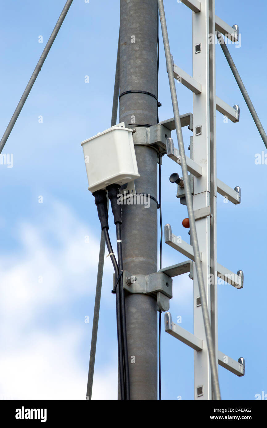 Koeln, Germany, German Telekom AG launches the LTE network in Cologne - Stock Image