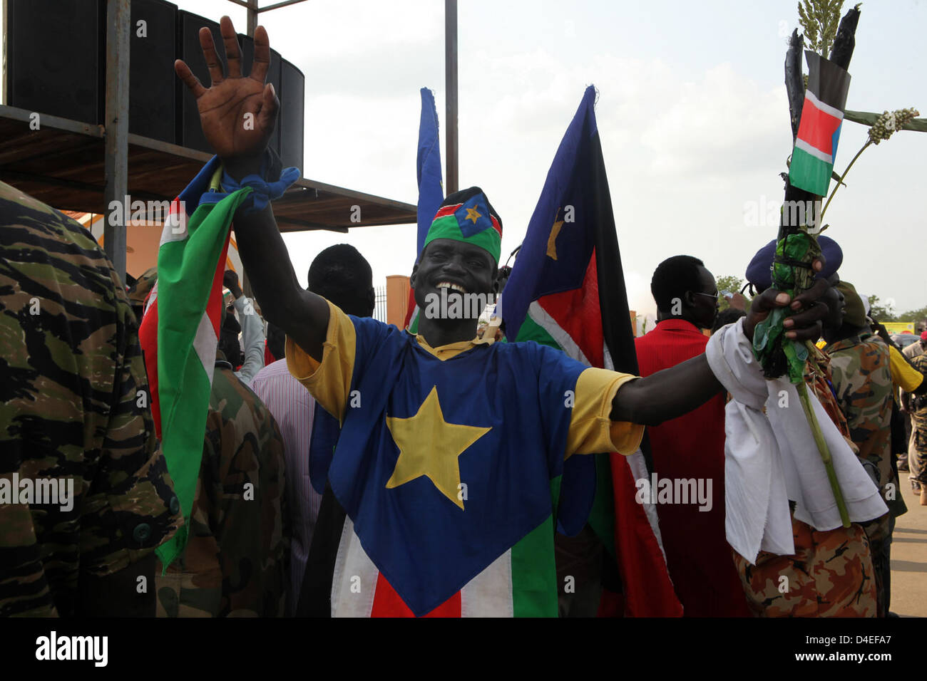 South Sudan Independence Day - Stock Image