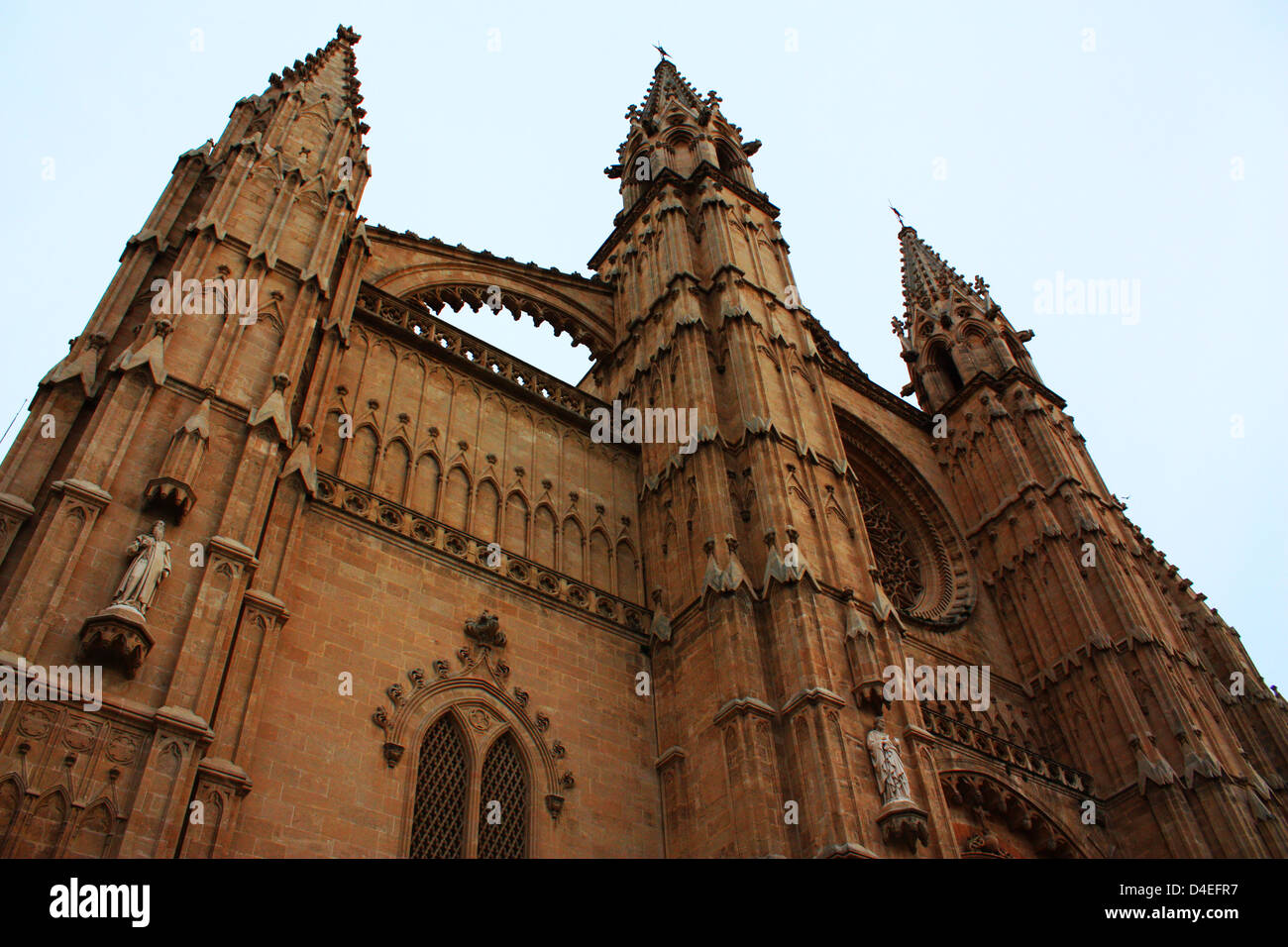 Church in Mallorca, Spain Stock Photo