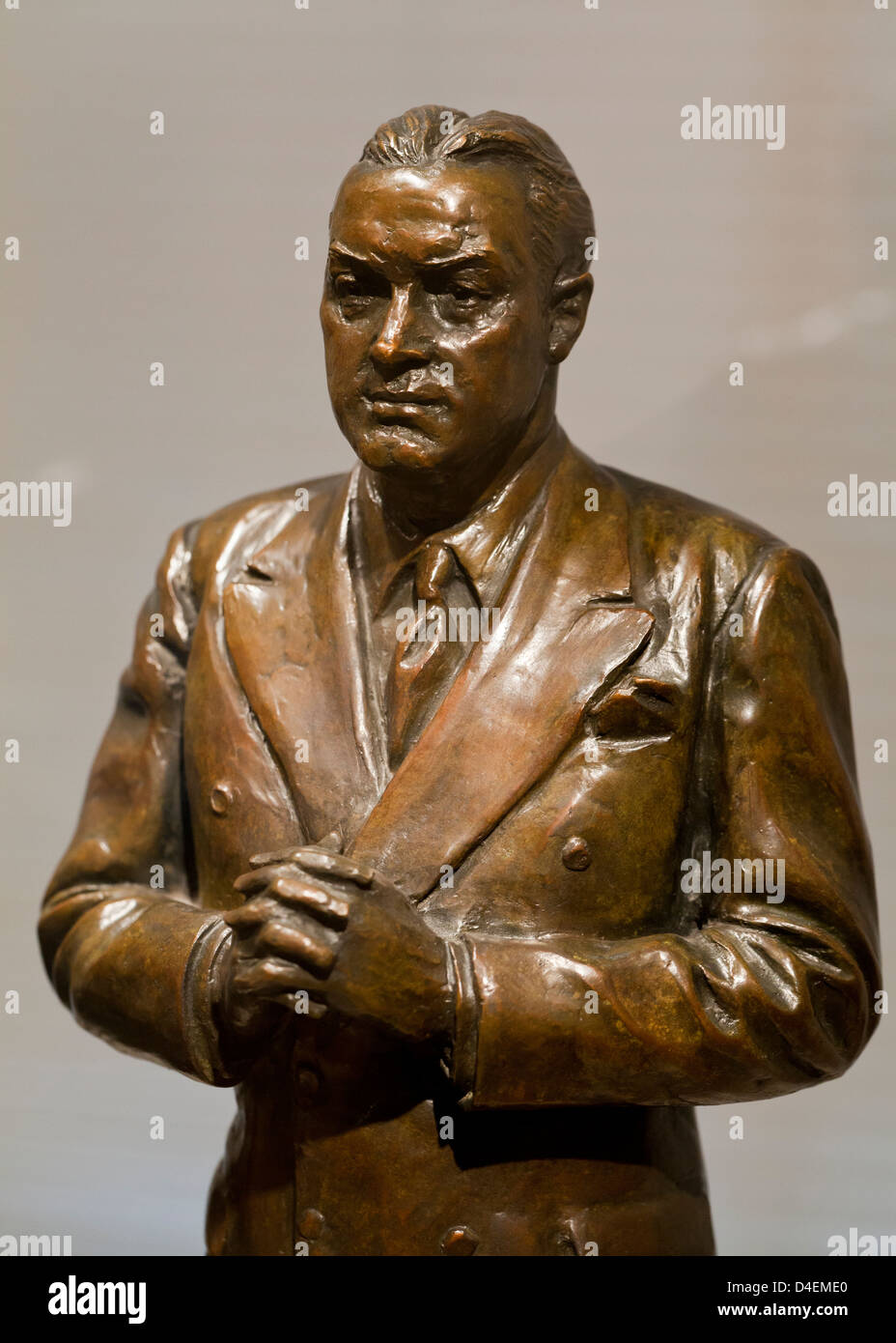 Sculpture of Bob Hope - Stock Image