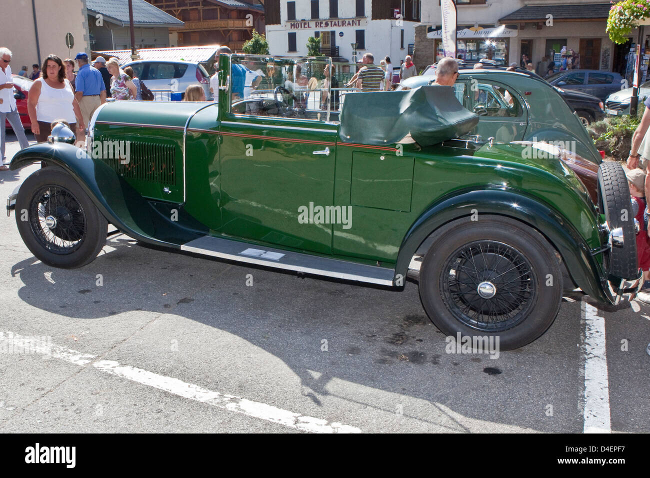 Antique and vintage cars : Hotchkiss AM2 1931 Stock Photo: 54414731 ...