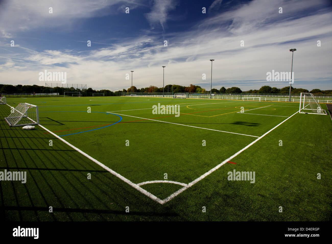 3G sports pitch - Stock Image