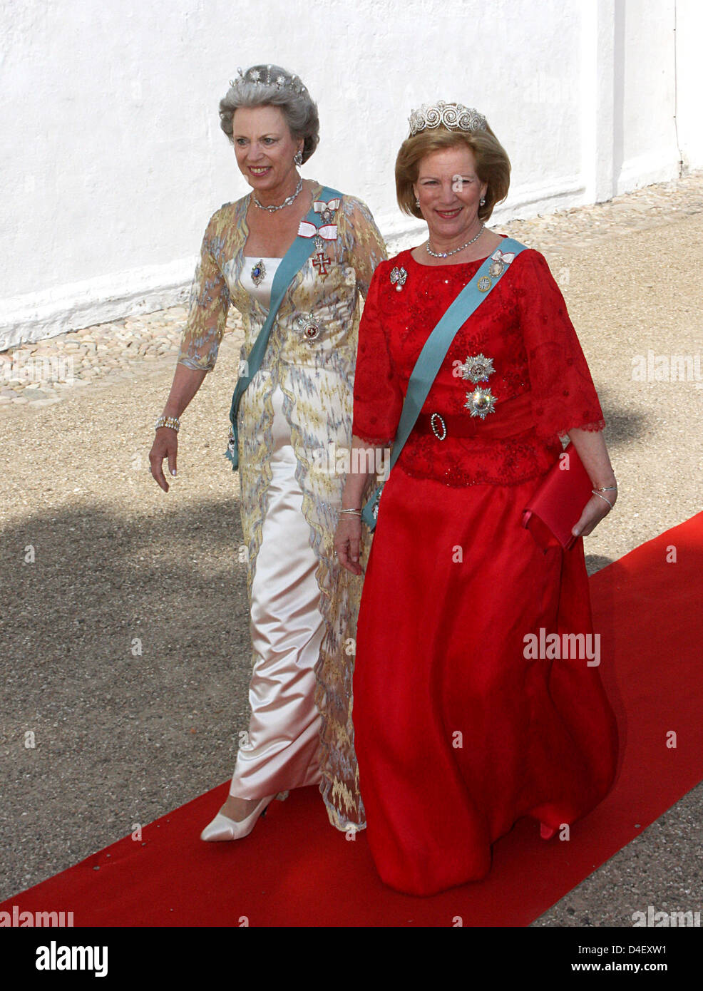 The Sisters Of Queen Margrethe Ii Of Denmark Princess