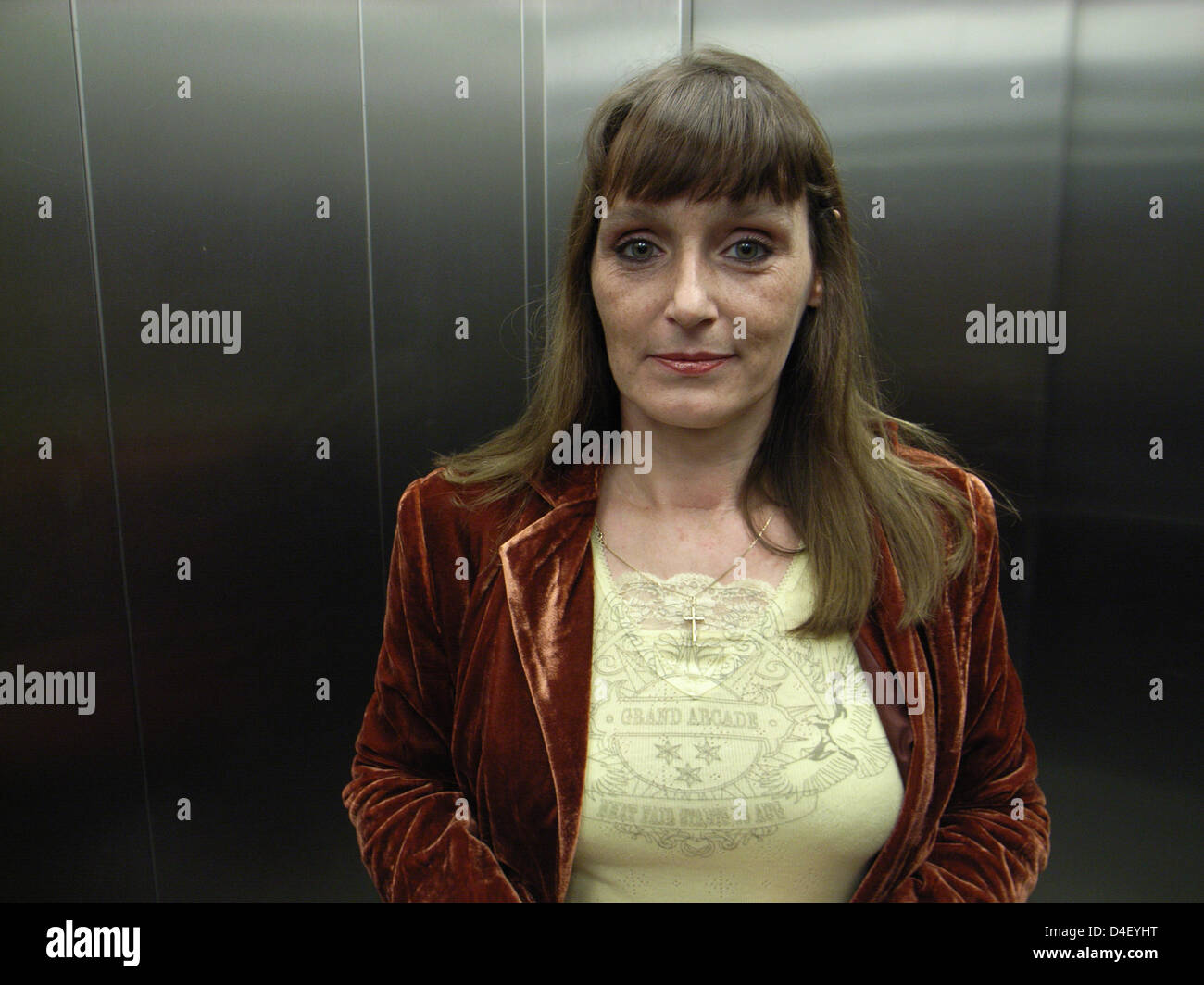 Christiane F. is pictured in October 2006. Since 1978 she