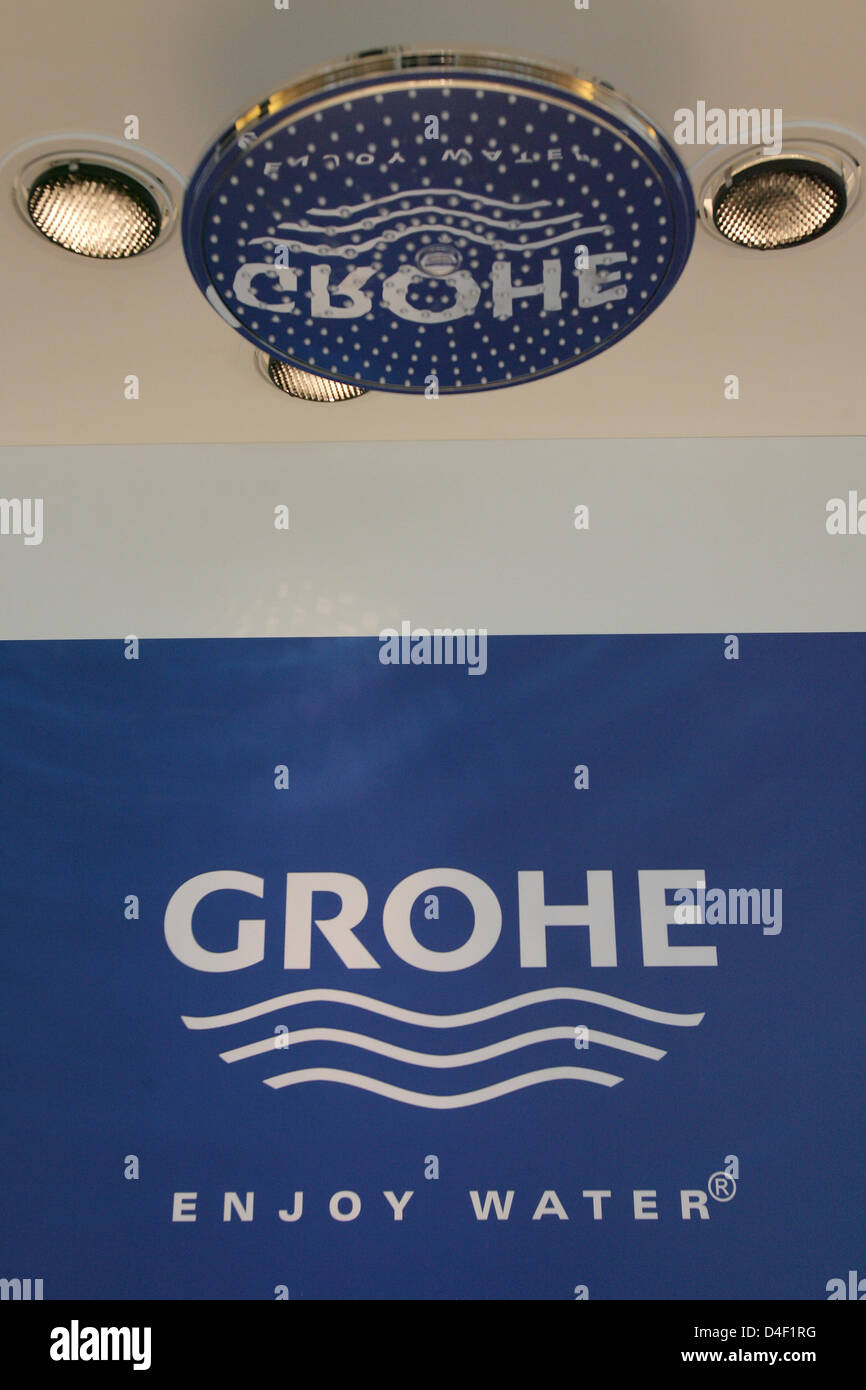 Grohe Ag the logo of grohe ag pictured in the bathroom fixtures producer's