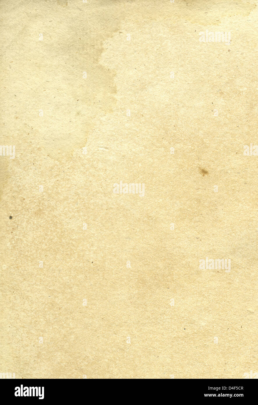 Old paper background. Yellow aged paper. - Stock Image